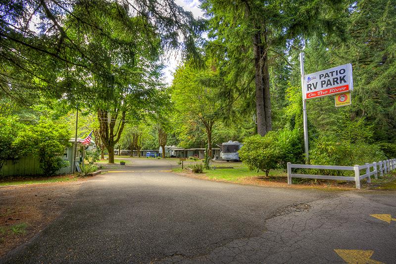 Perfect Patio RV Park Entrance